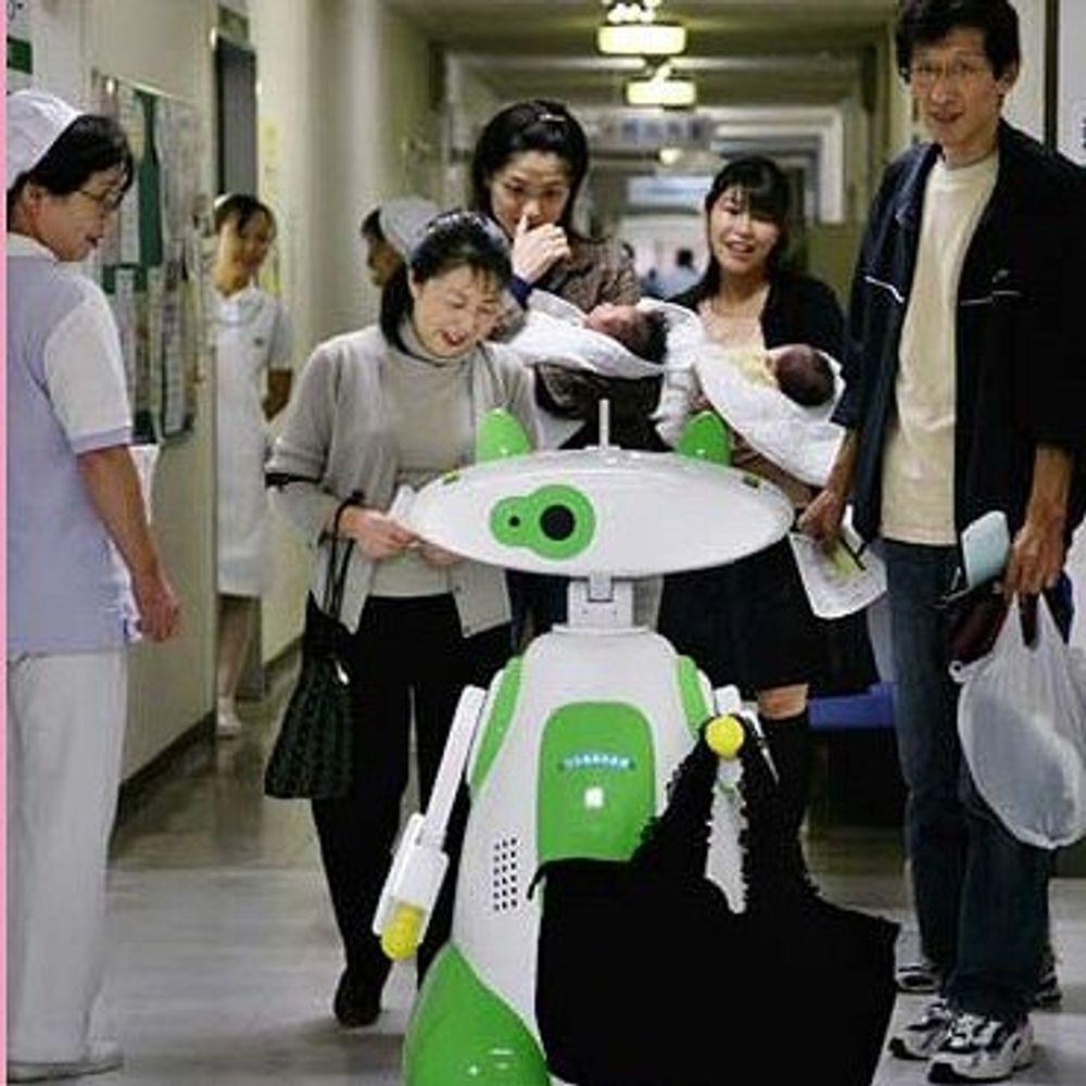 Japanske sykehus får hjelp fra roboter