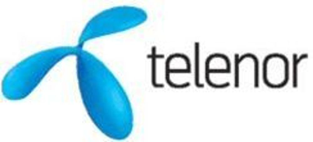 Ny logo og profil på Telenor