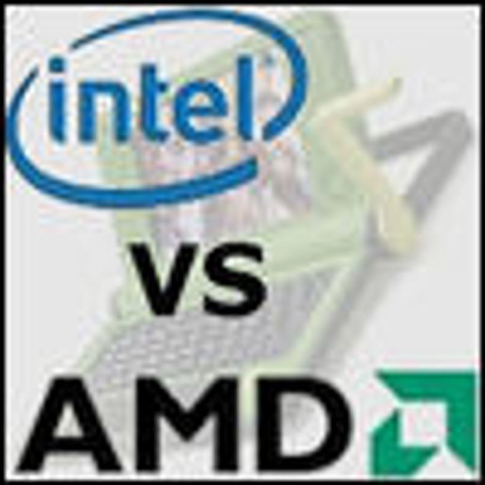 Intel tar serverandeler, mens AMD øker på PCer