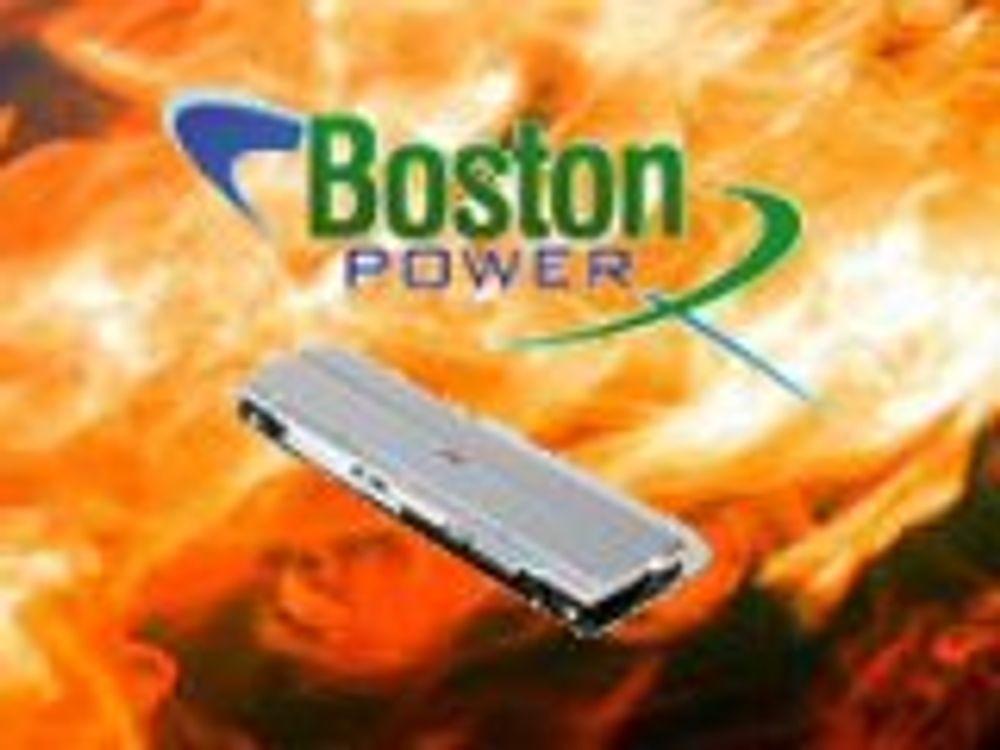 Oppstart viste sikkert PC-batteri