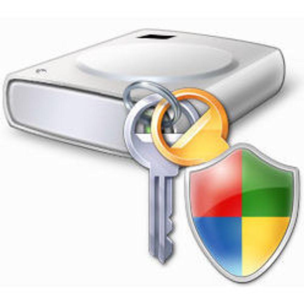 BitLocker i Vista for begrenset for mange