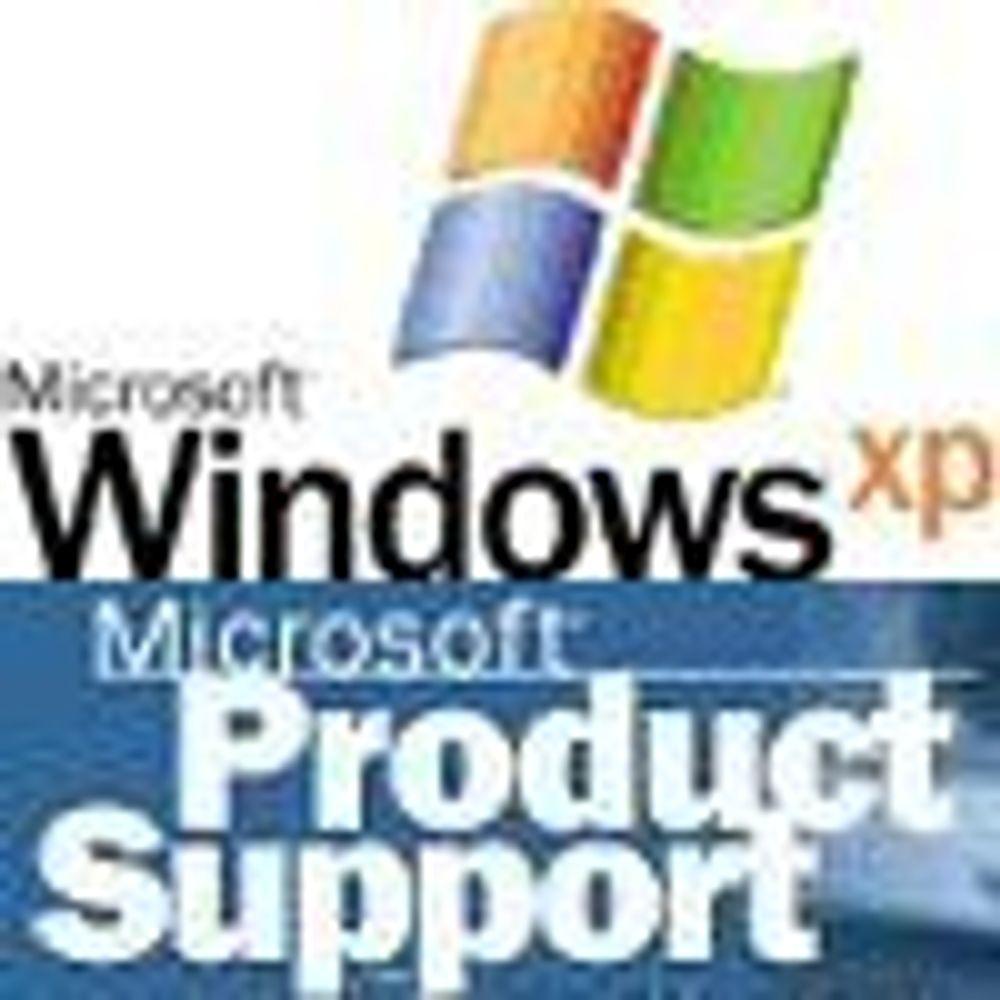 Microsoft utvider support for Windows XP