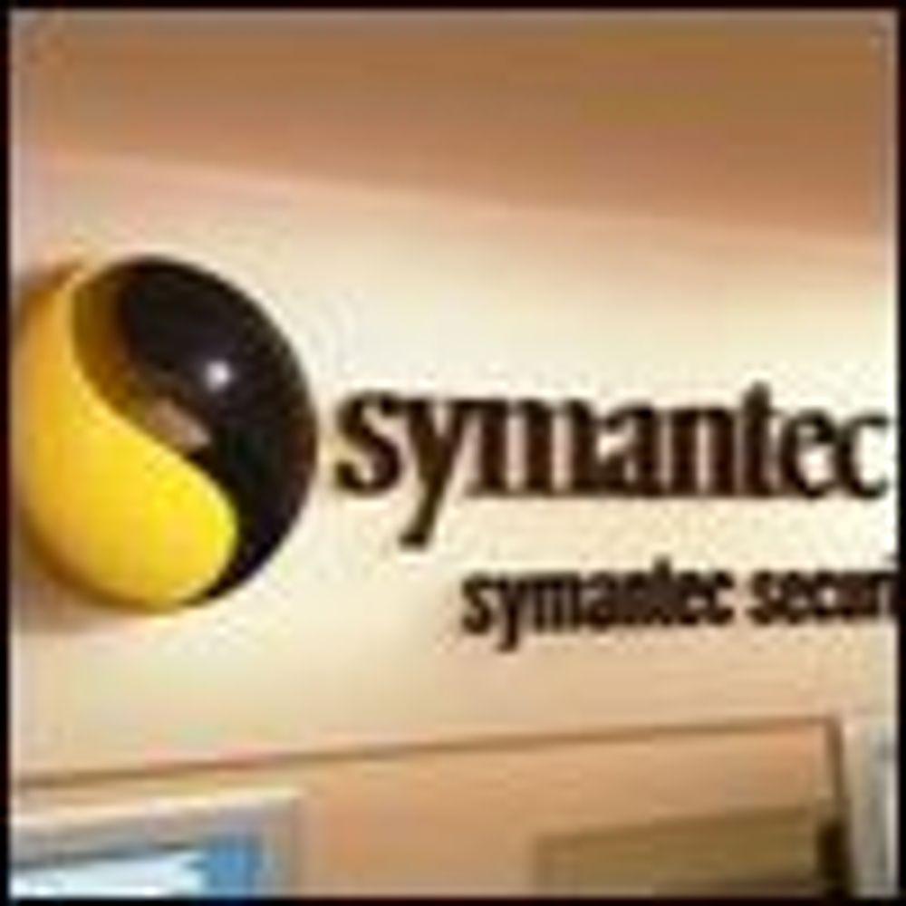 Symantec økte kraftig og kutter