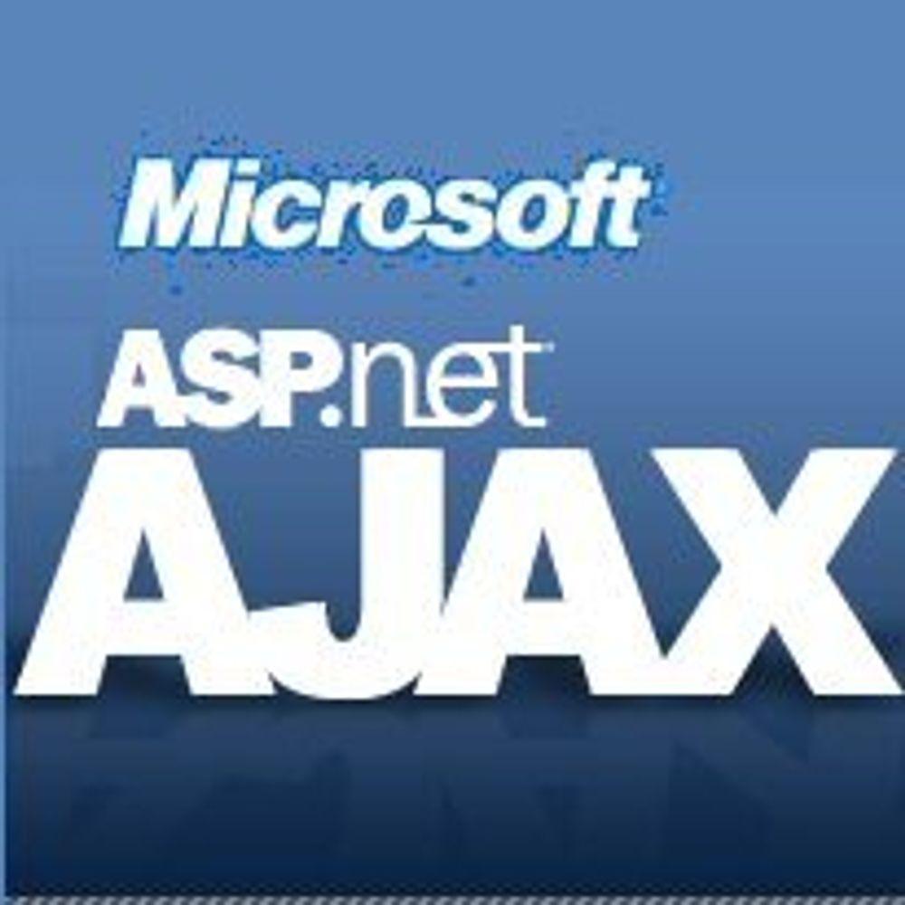 Microsoft klar med Ajax-rammeverk