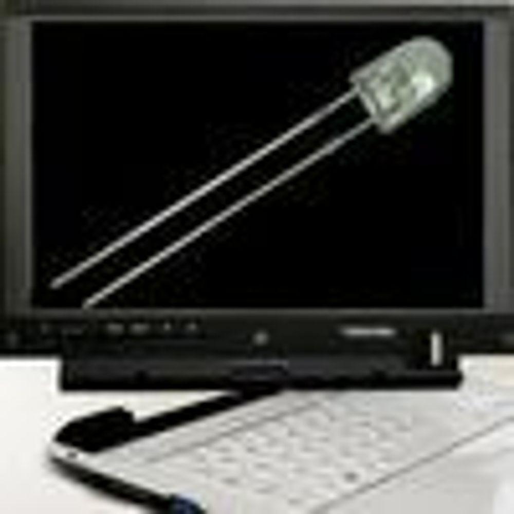 Mener mange bærbare snart får LED-skjerm