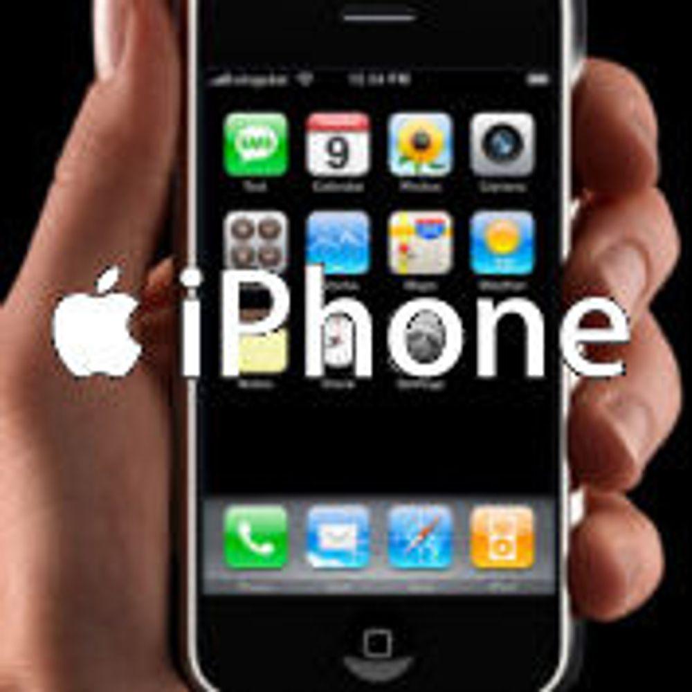 Spår motbakke for Apple iPhone i Europa