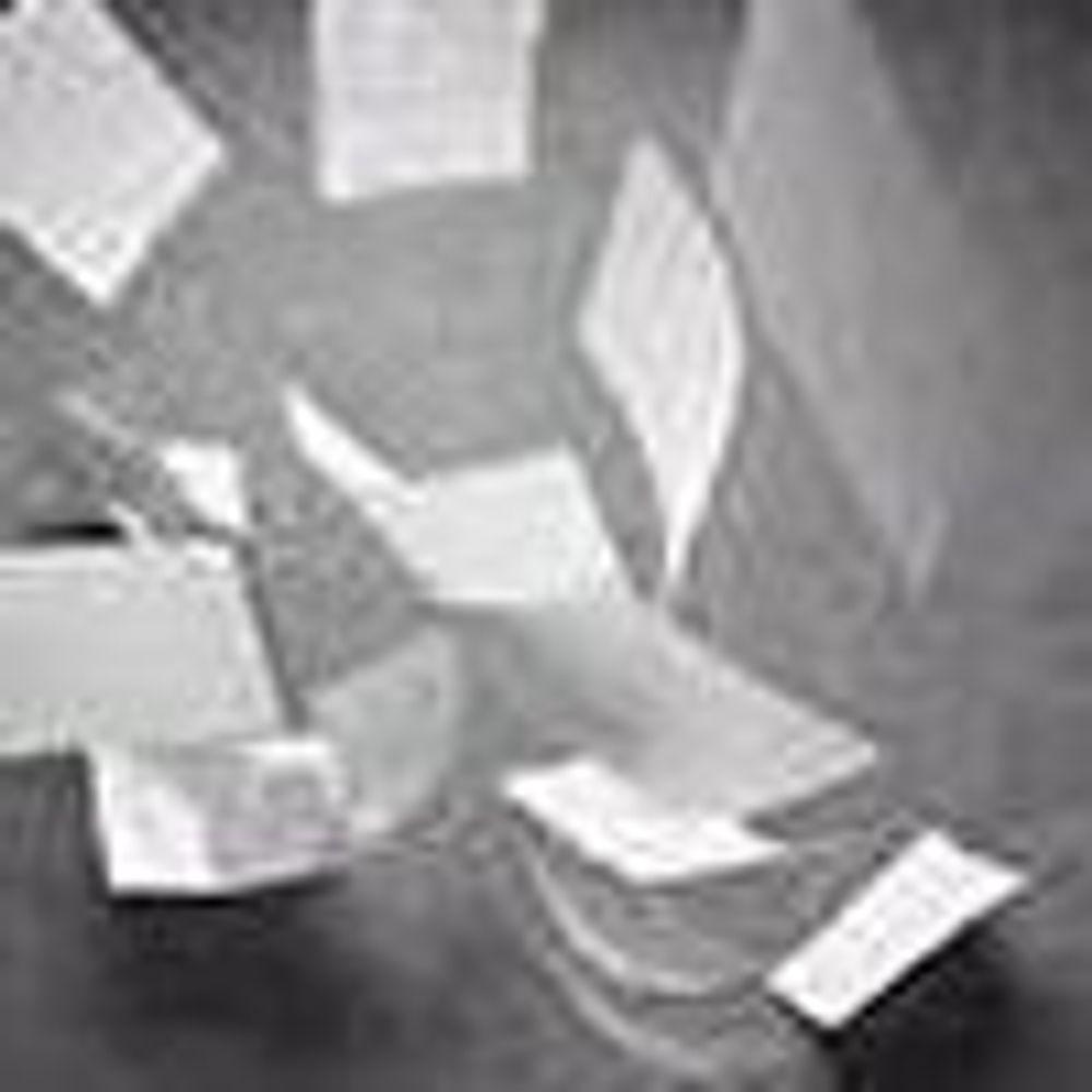 Røverhistorie om datalagring på papir