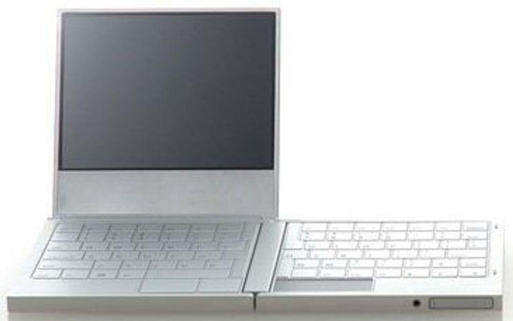 Fujitsu viser laptop som kan brettes sammen