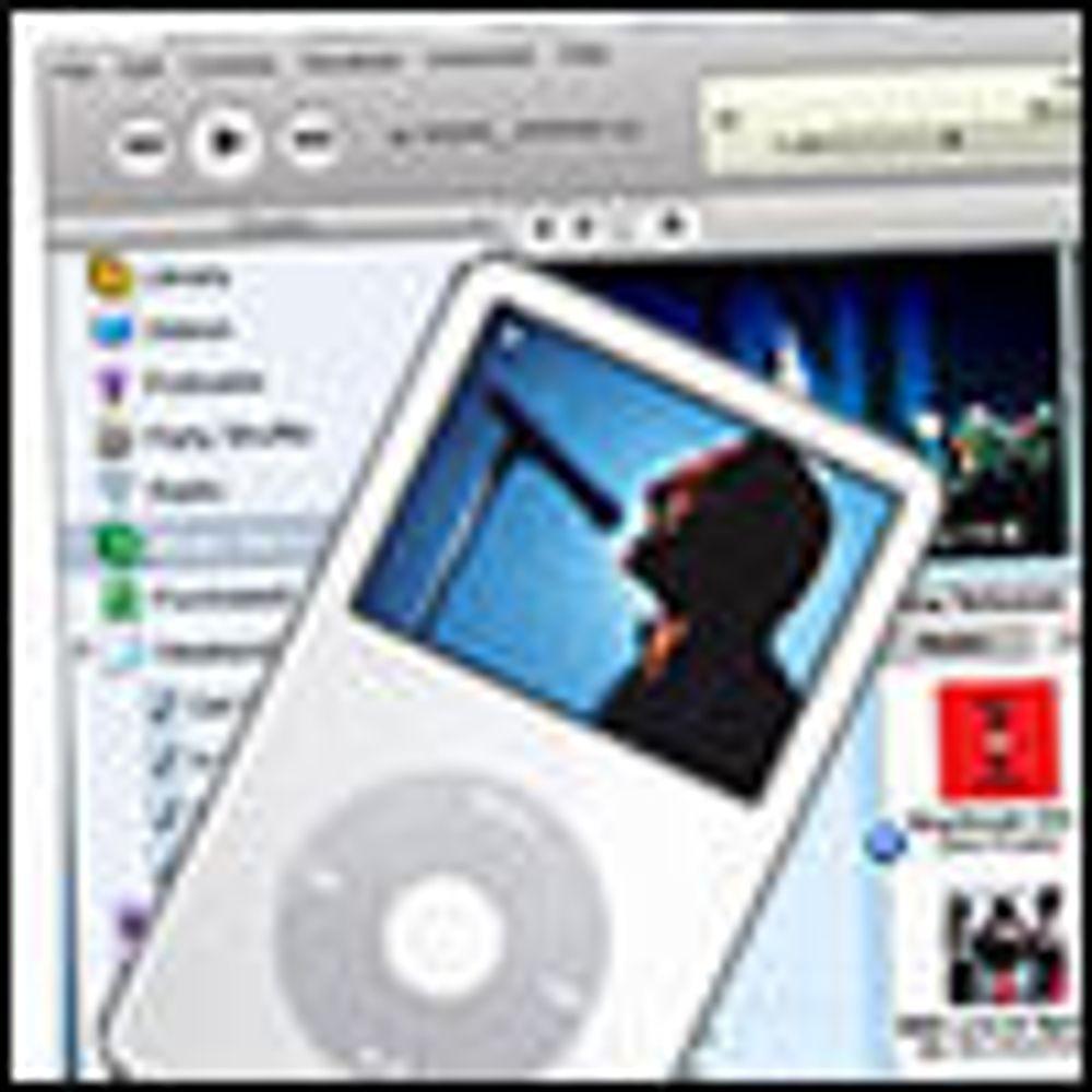 iPod brukes svært sjeldent til video