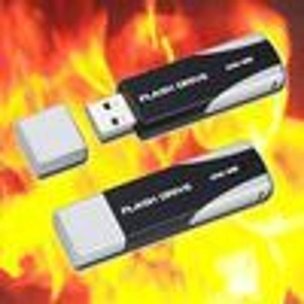 USB-pinne lar folk jobbe gjennom krisen
