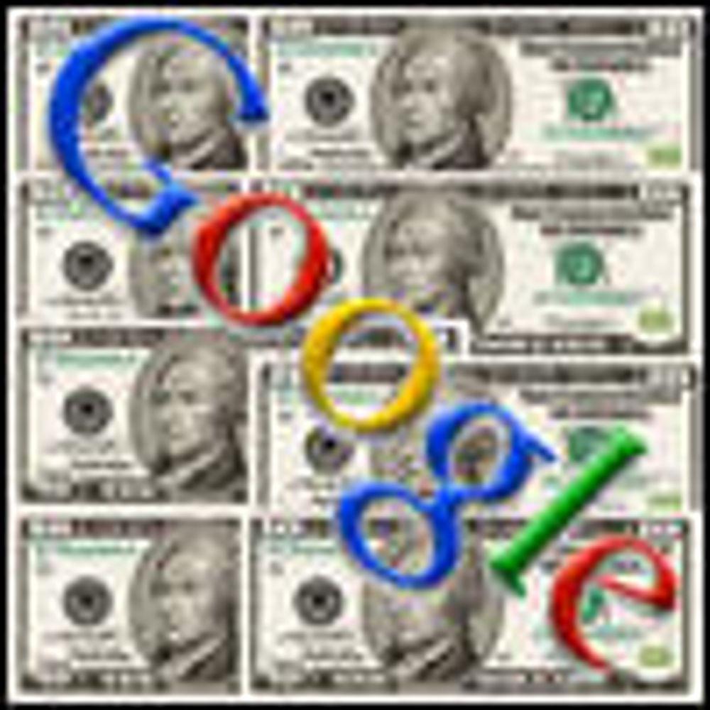 Google godsnakker med aksjemarkedet