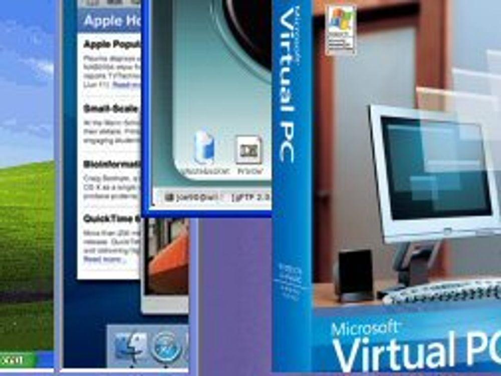 Microsoft deler ut virtualisering til PC-en