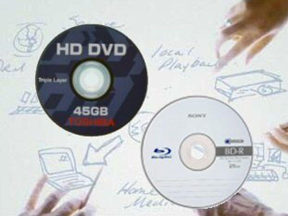 Enkelt å kopiere de nye DVD-formatene