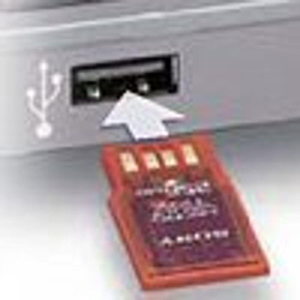 Knøttsmå USB-minnepinner fra Sony