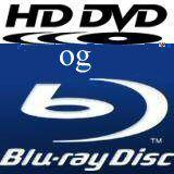 Optisk komponent for både HD DVD og Blu-ray