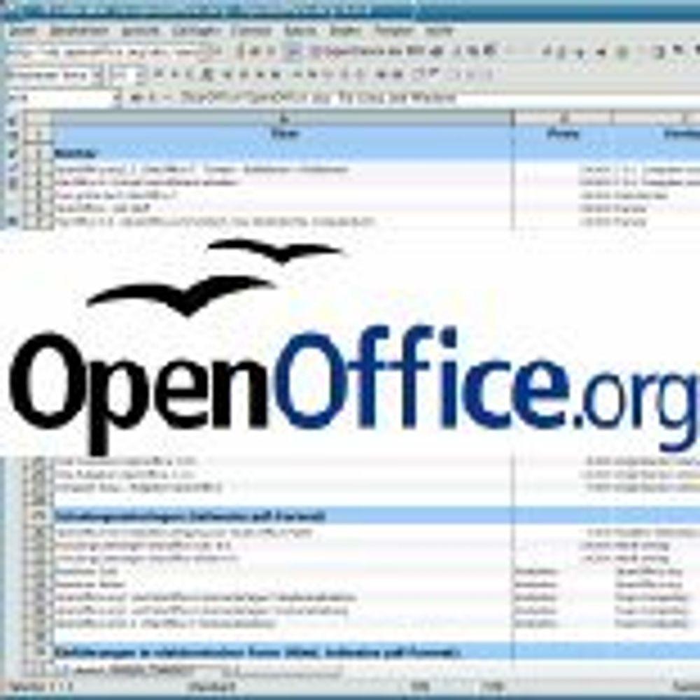 Sårbarheter tettet i OpenOffice.org