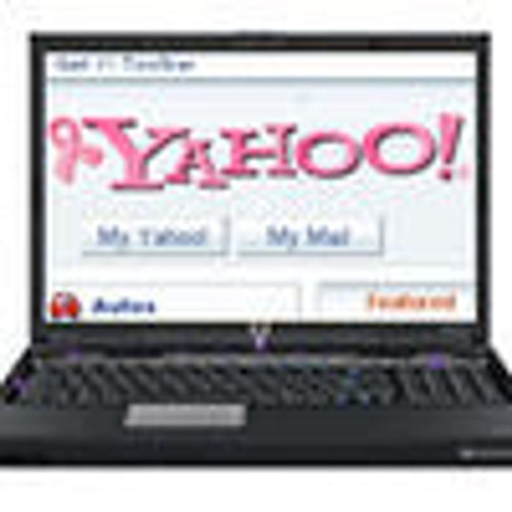 Yahoo kjøper plass på HPs maskiner