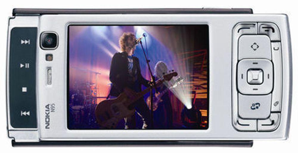 Nokia satser på GPS og kart i ny toppmodell