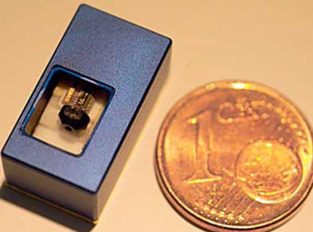 Viser frem ny type mikro-prosjektor