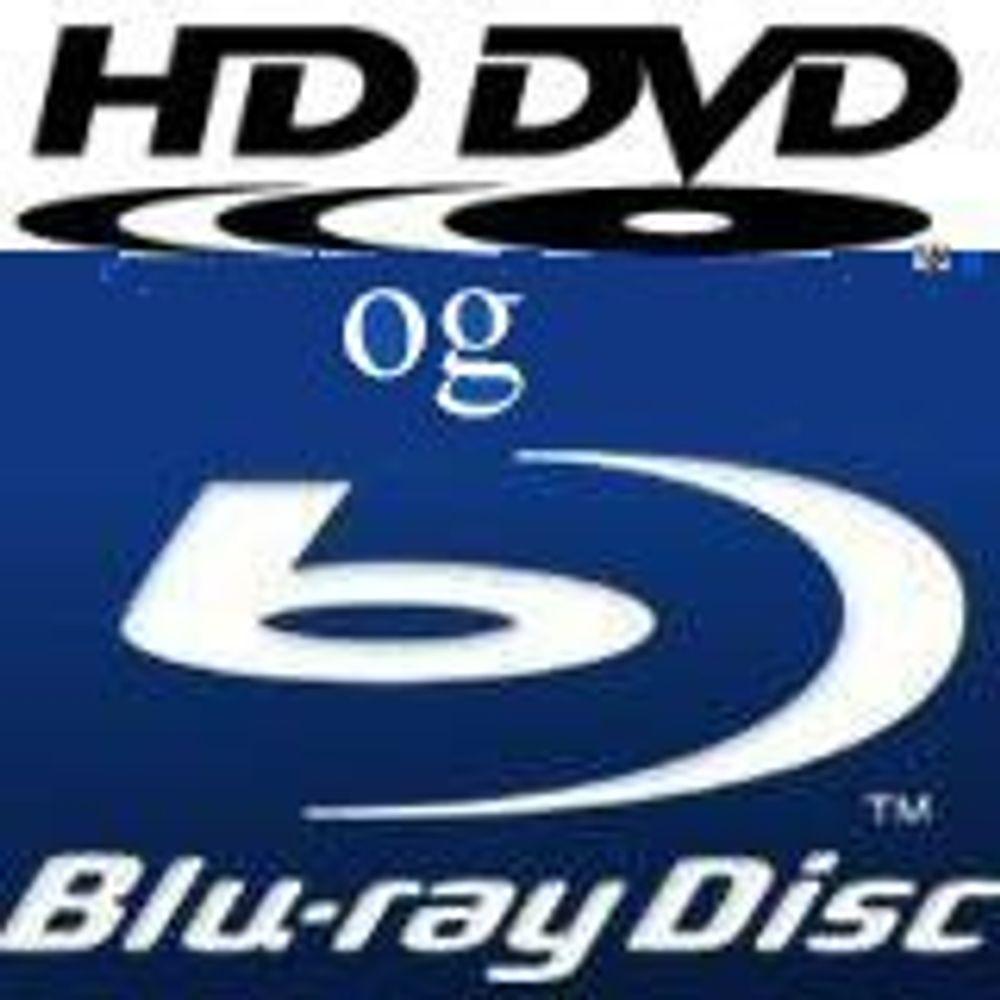 Ønsker Blu-ray og HD DVD på samme plate