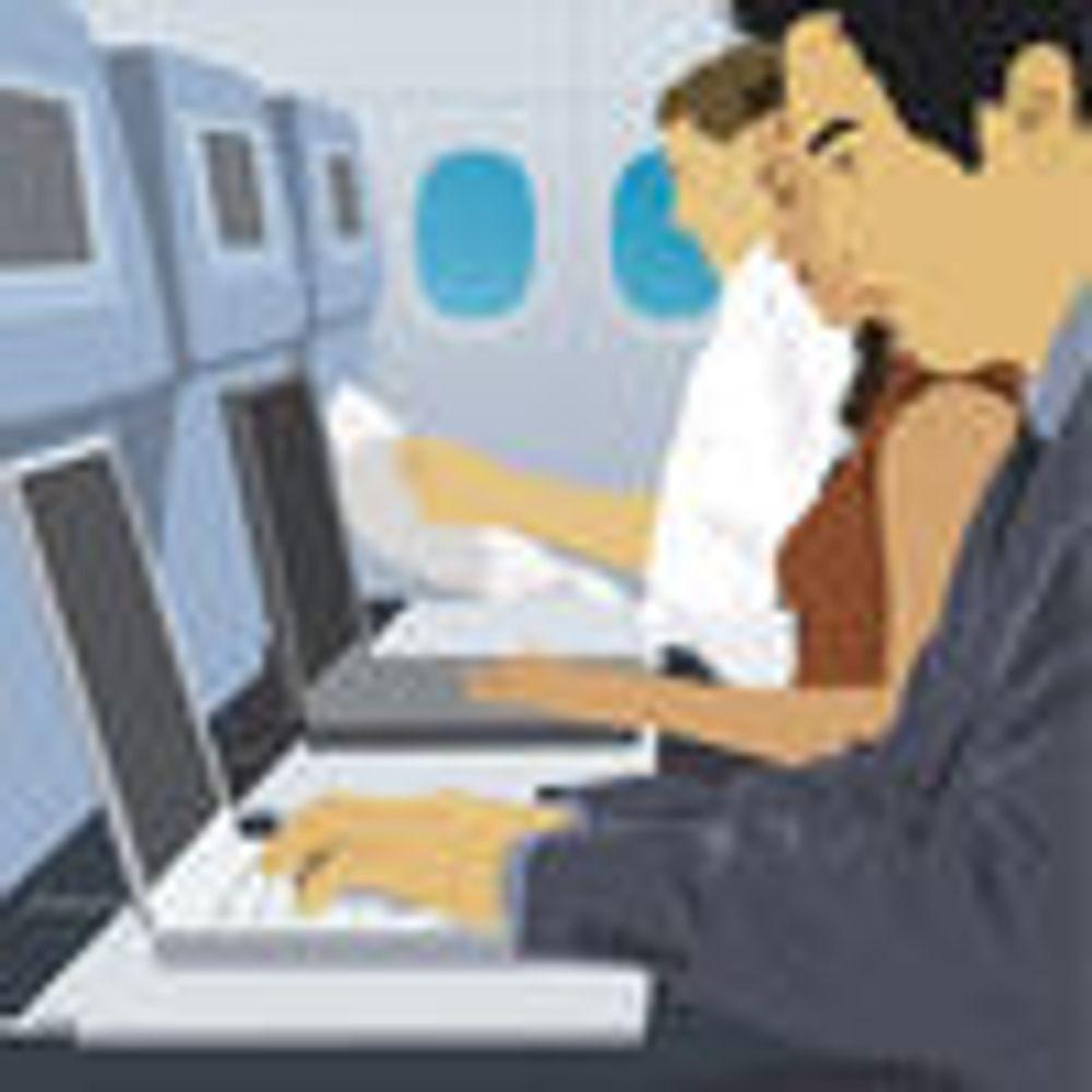 Internett på fly er en flopp