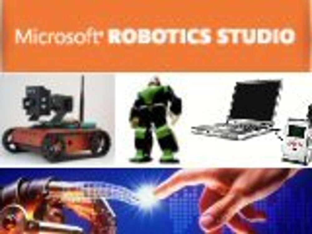 Nytt Windows-miljø for robotprogrammering