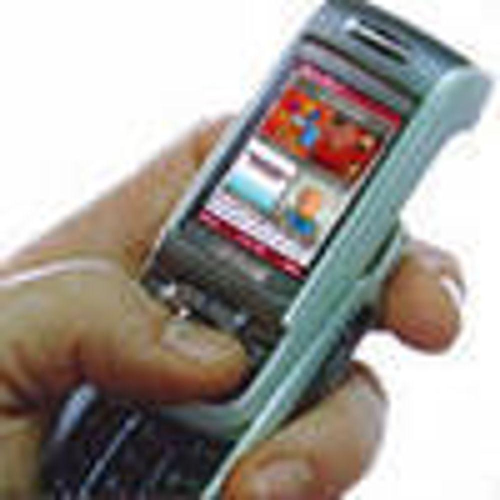 Svak vekst i salget av 3G-mobiler