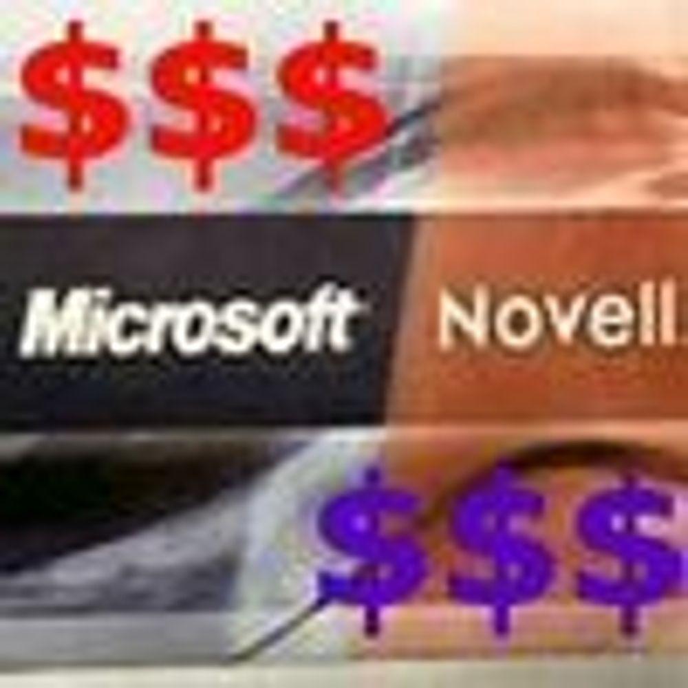 Microsoft med milliard-forskudd til Novell