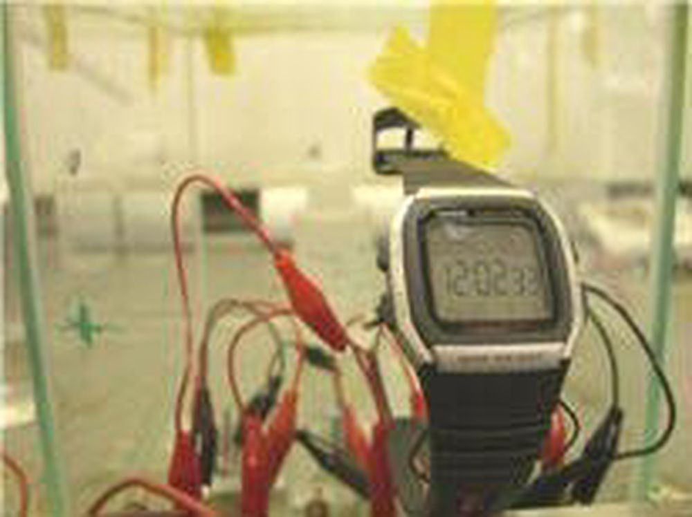 Biobrenselcelle lager strøm fra luft