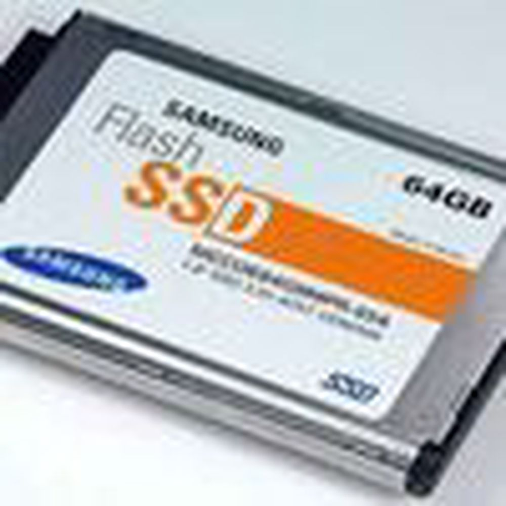 Større flashminne-disk til små PC-er