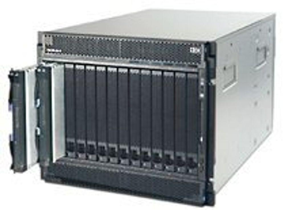 IBM får opp farten på sine bladservere