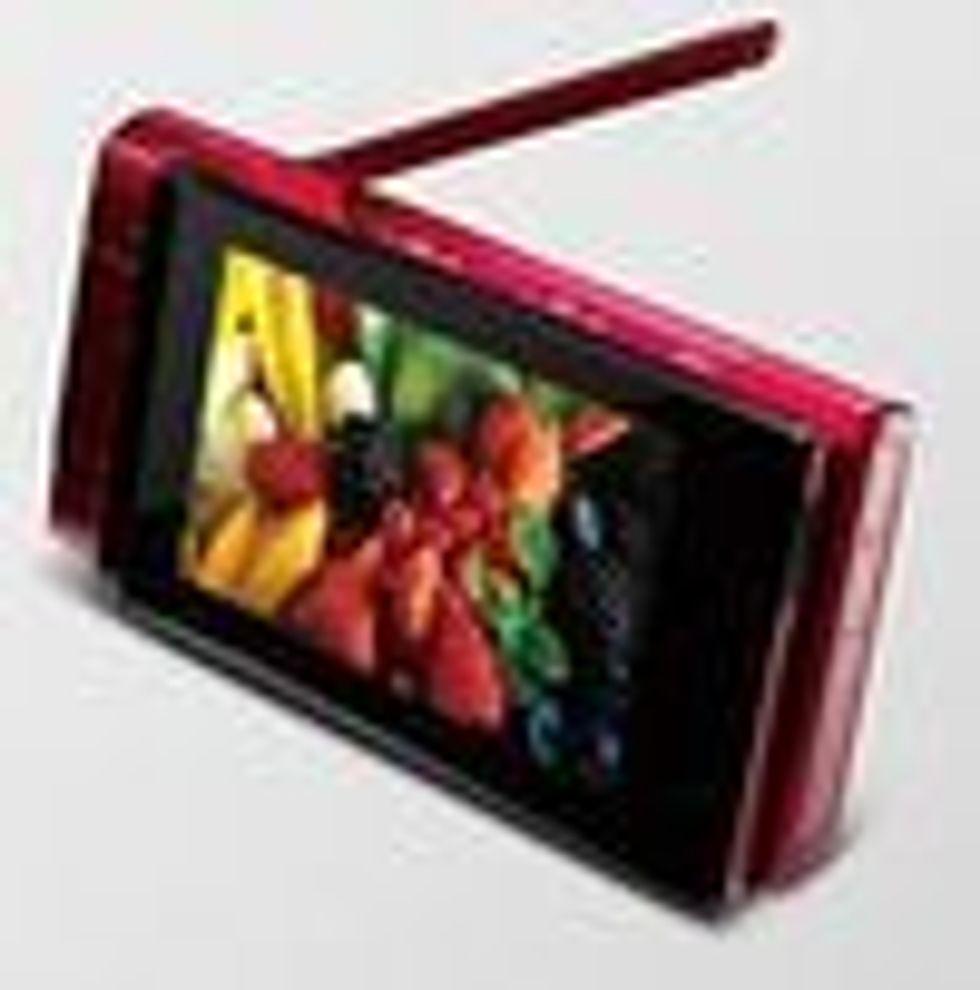 Sony Ericssons lanserte sin første TV-mobil