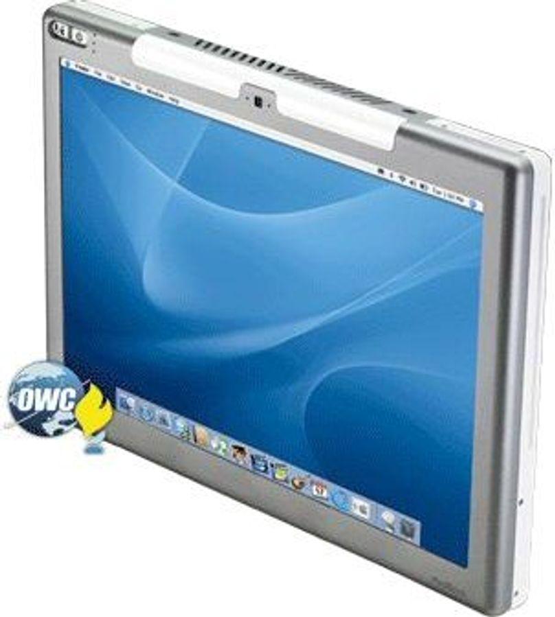 Den første «Mac Tablet» vekker oppsikt