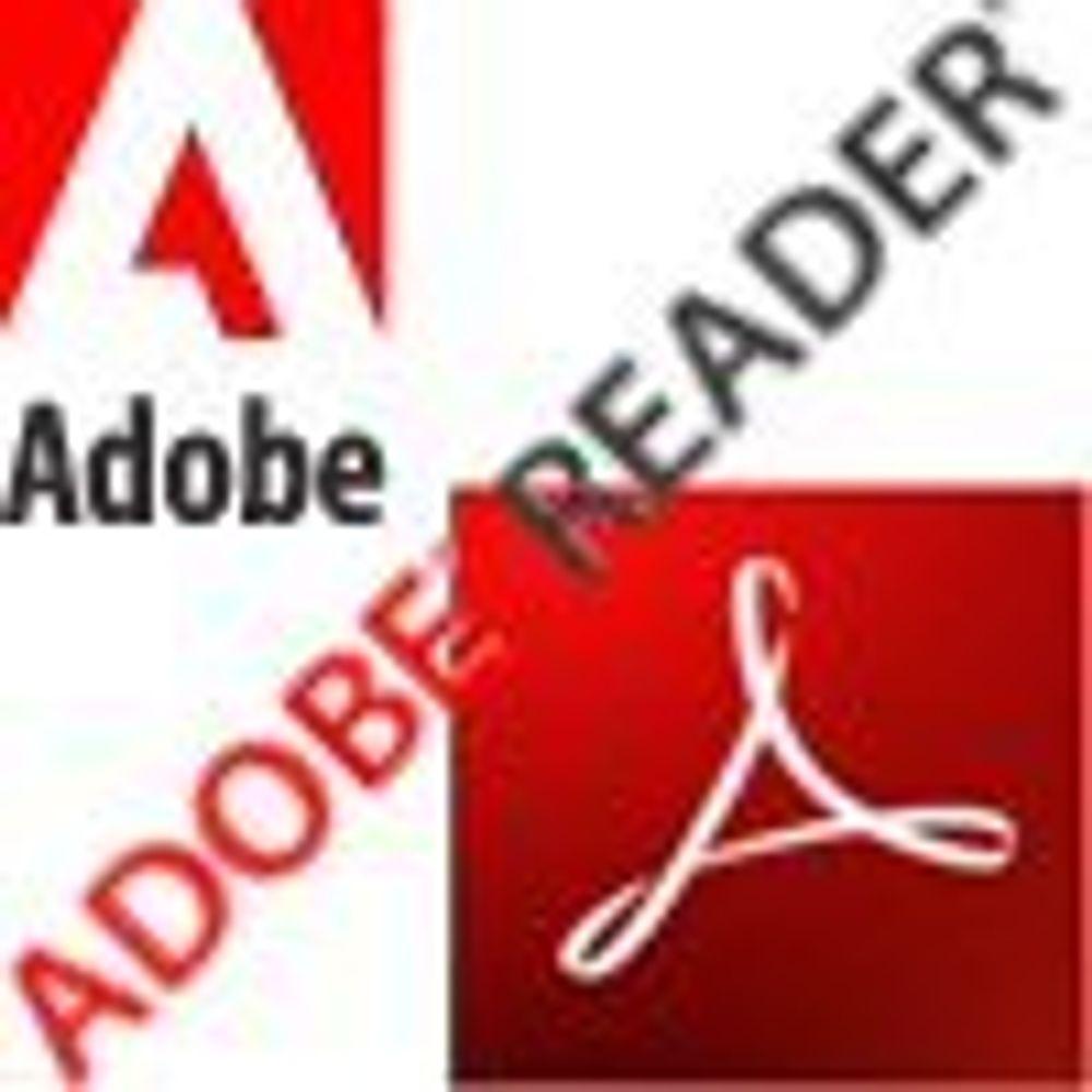 Adobe tetter kritisk hull i pdf-leseren