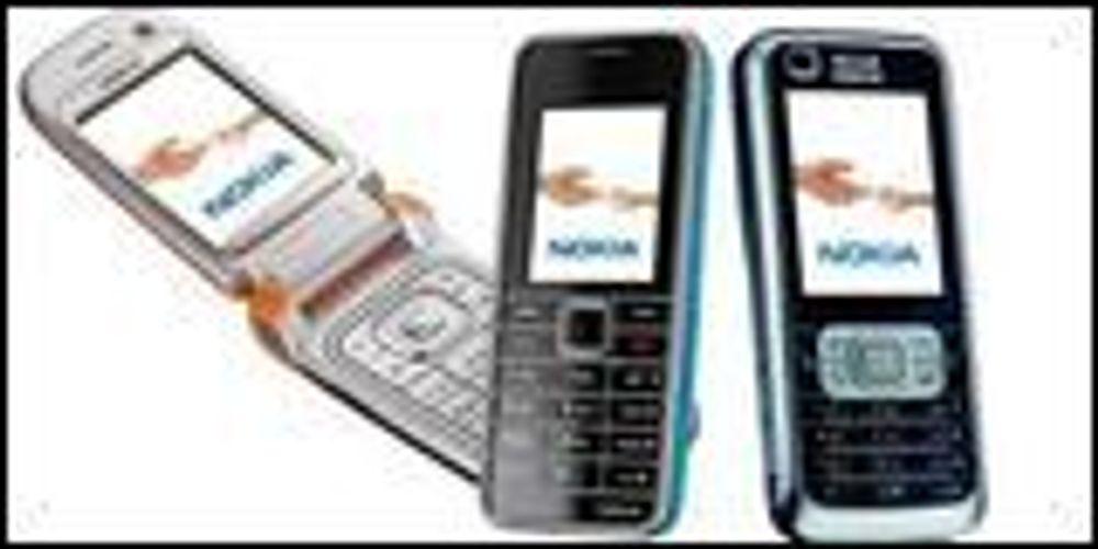 Nokia med nye mobiler til høsten