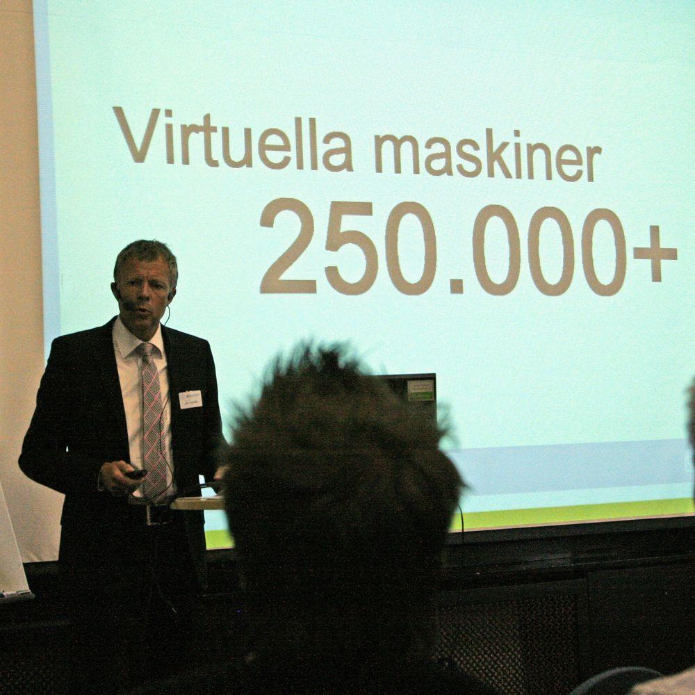Kundene har begynt å stole på virtualisering