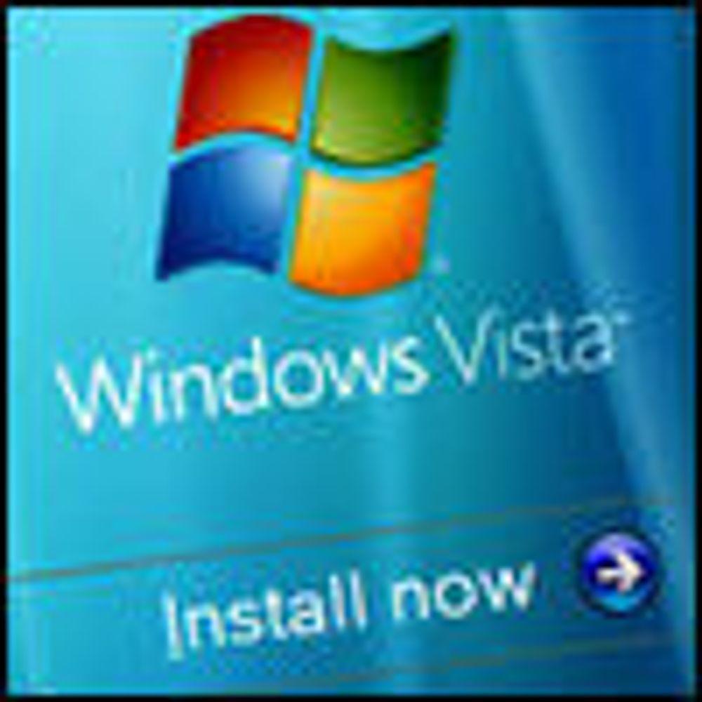 Microsoft myker opp lisensregler for Vista