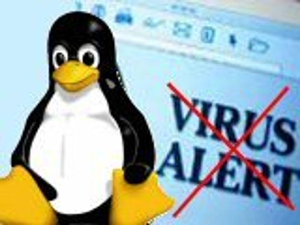 Gidder ikke å lage virus til Linux