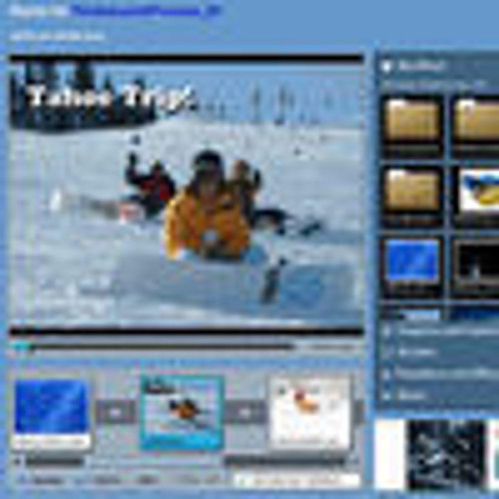 Flytter videoredigering til nettleseren