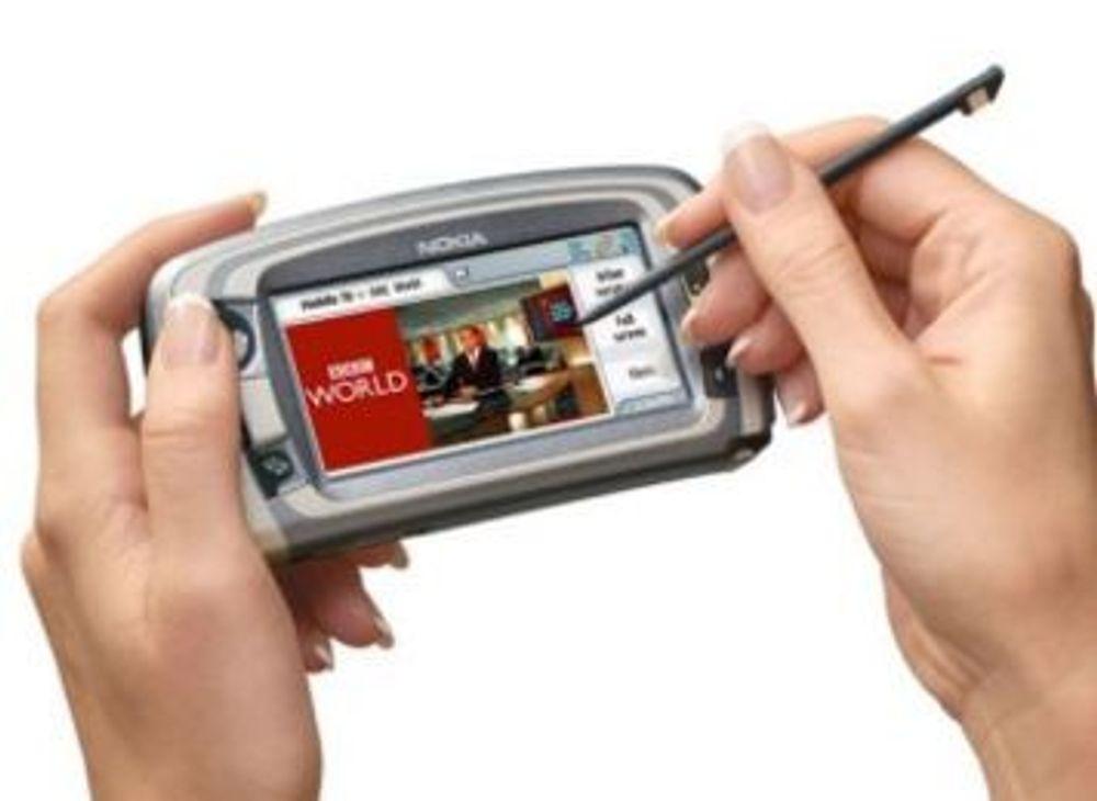Finland først ut med mobil-TV-nett