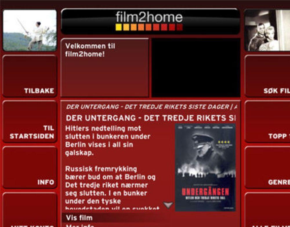 Filmsselskap leier direkte til norske kunder