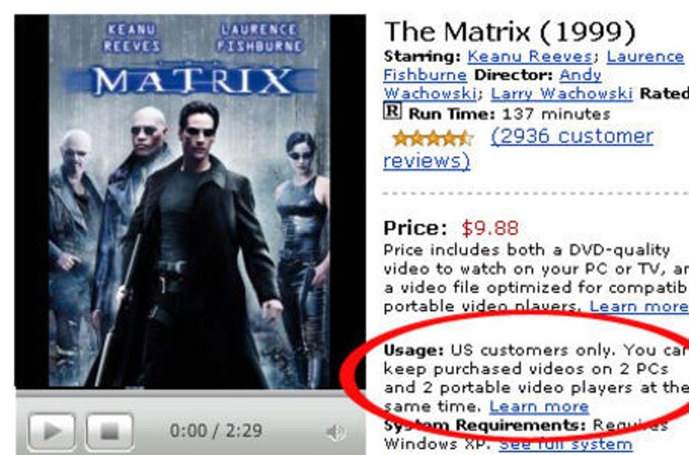 Amazon-kunder får film til fire enheter