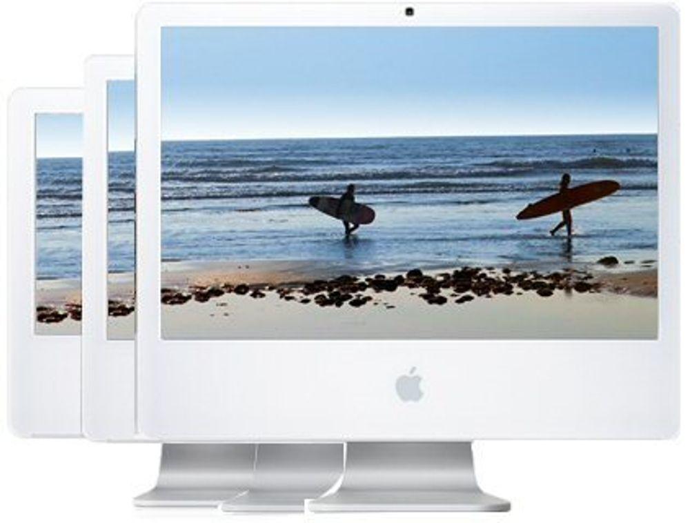 Gigantskjerm og Core 2 med ny iMac