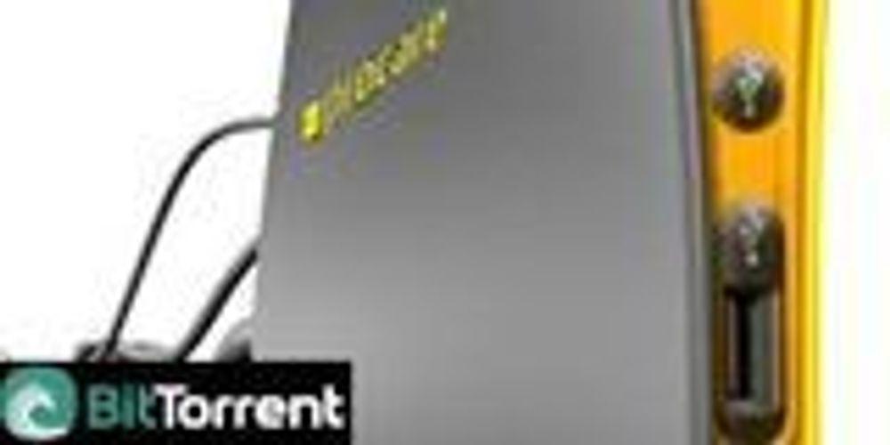 BitTorrent-boks for fildeling med venner