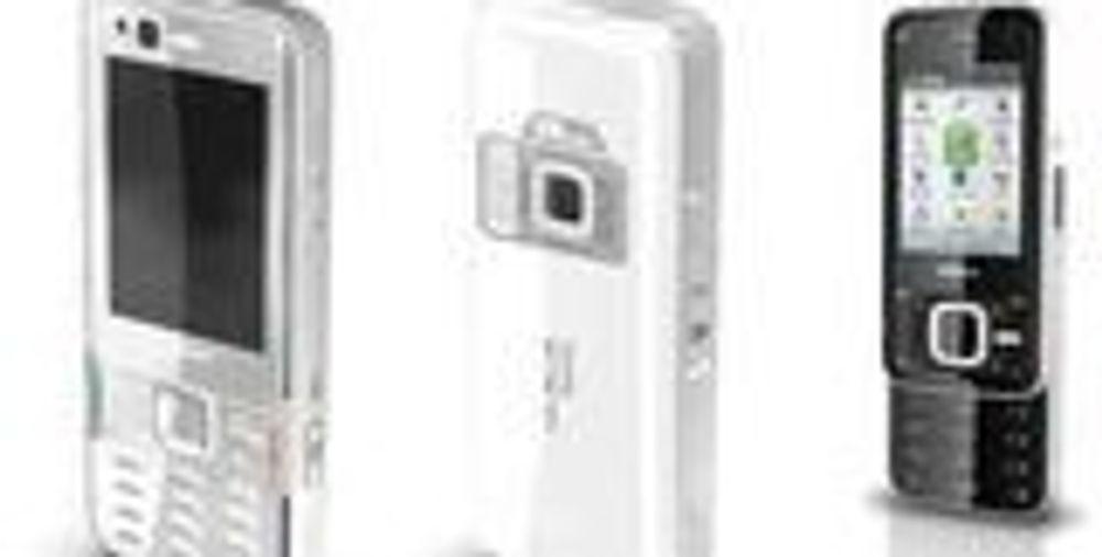 Bilder av nye Nokia N-mobiler lekket