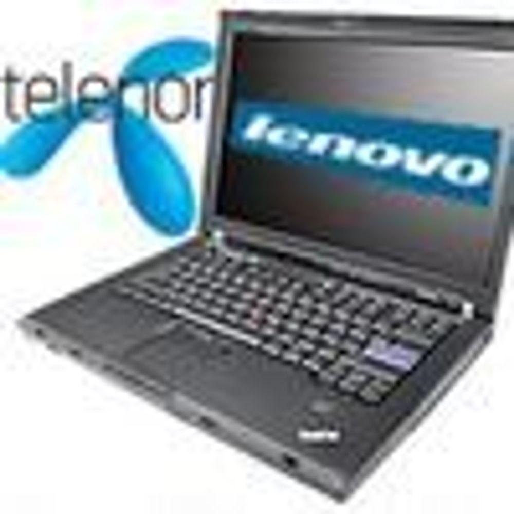 Lenovo-bærbare straks klar med Telenor 3G