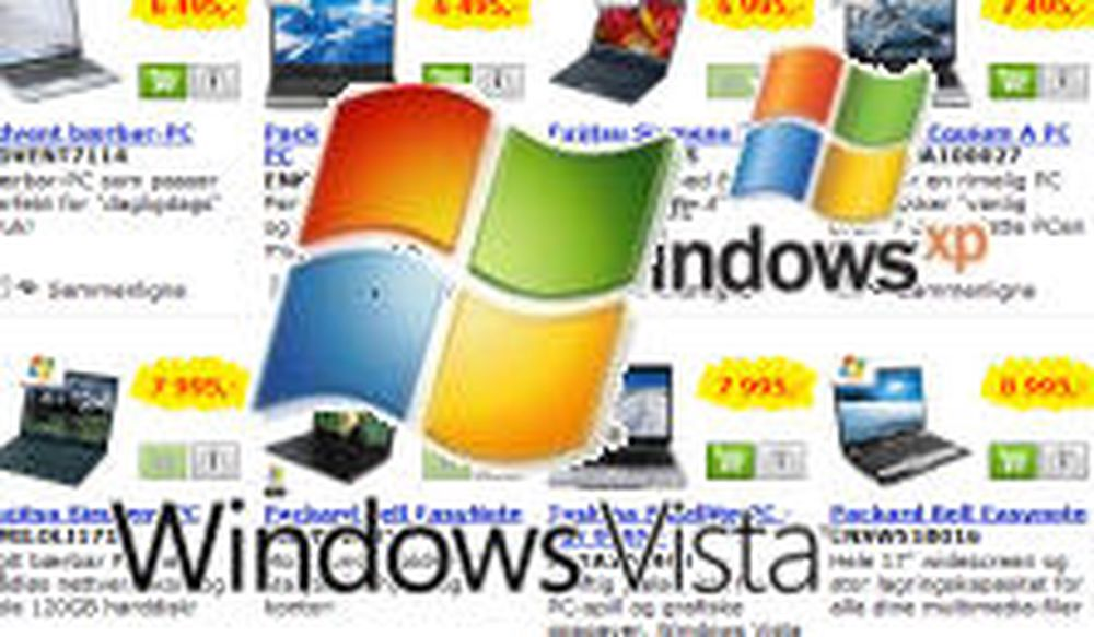 Tvinges til å kjøpe Windows Vista