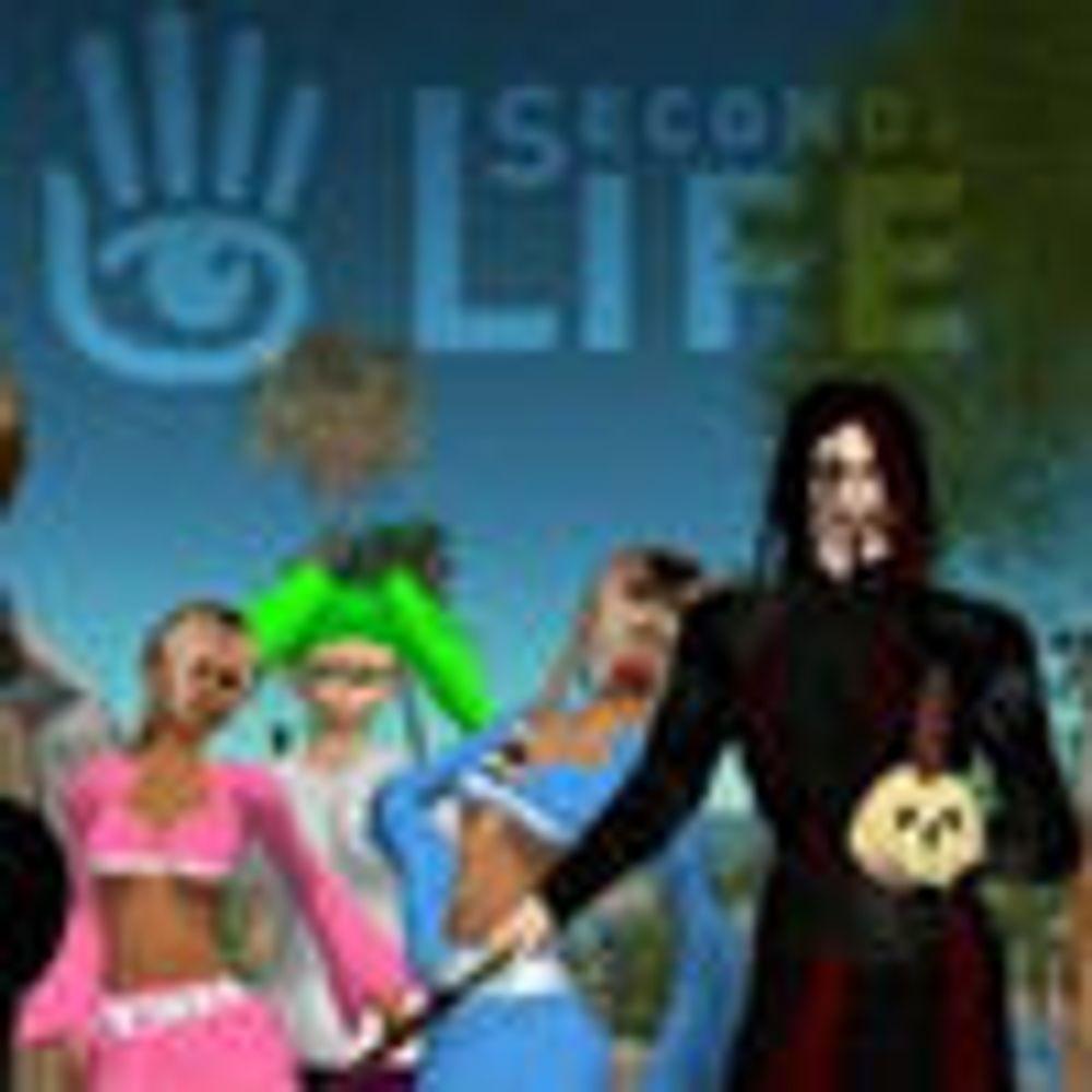 Second Life er ikke så stort likevel