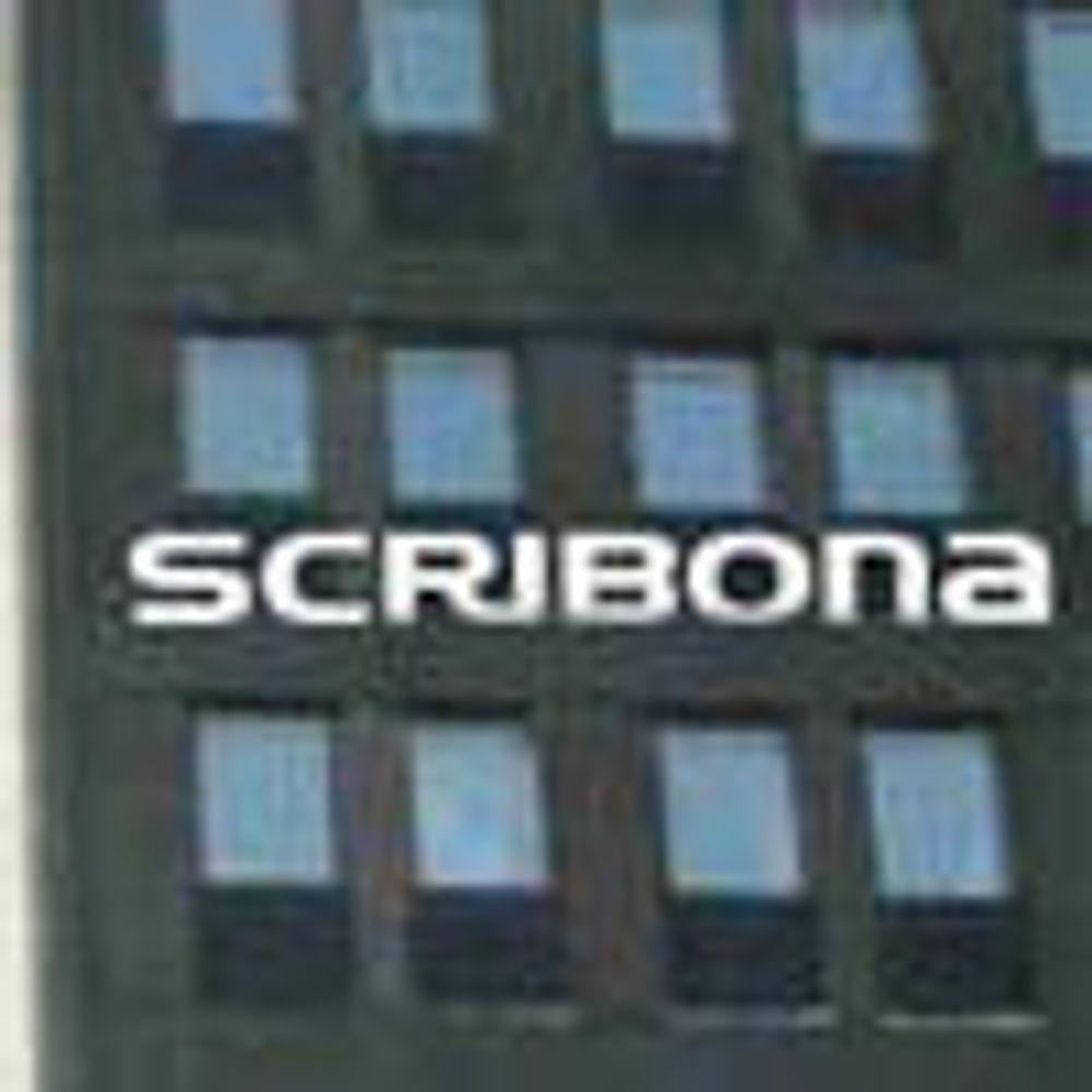 Scribona-sjef måtte gå etter svake tall