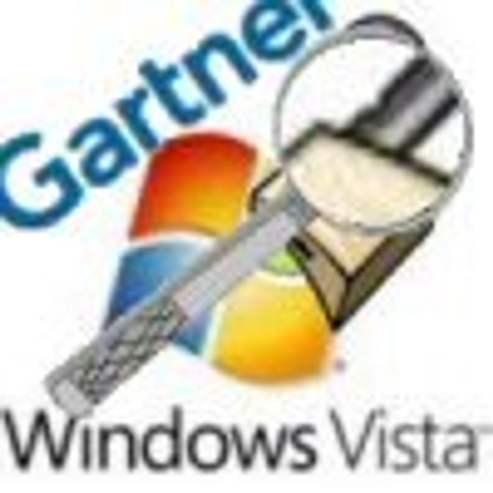 Gartner: - Vent med å kjøpe 64-bits Vista
